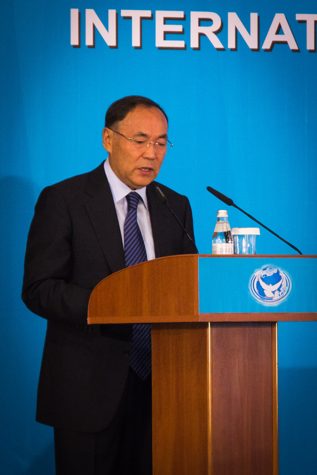 Kanat Saudabayev, Chairman of the Commission on non-proliferation under the President of Kazakhstan