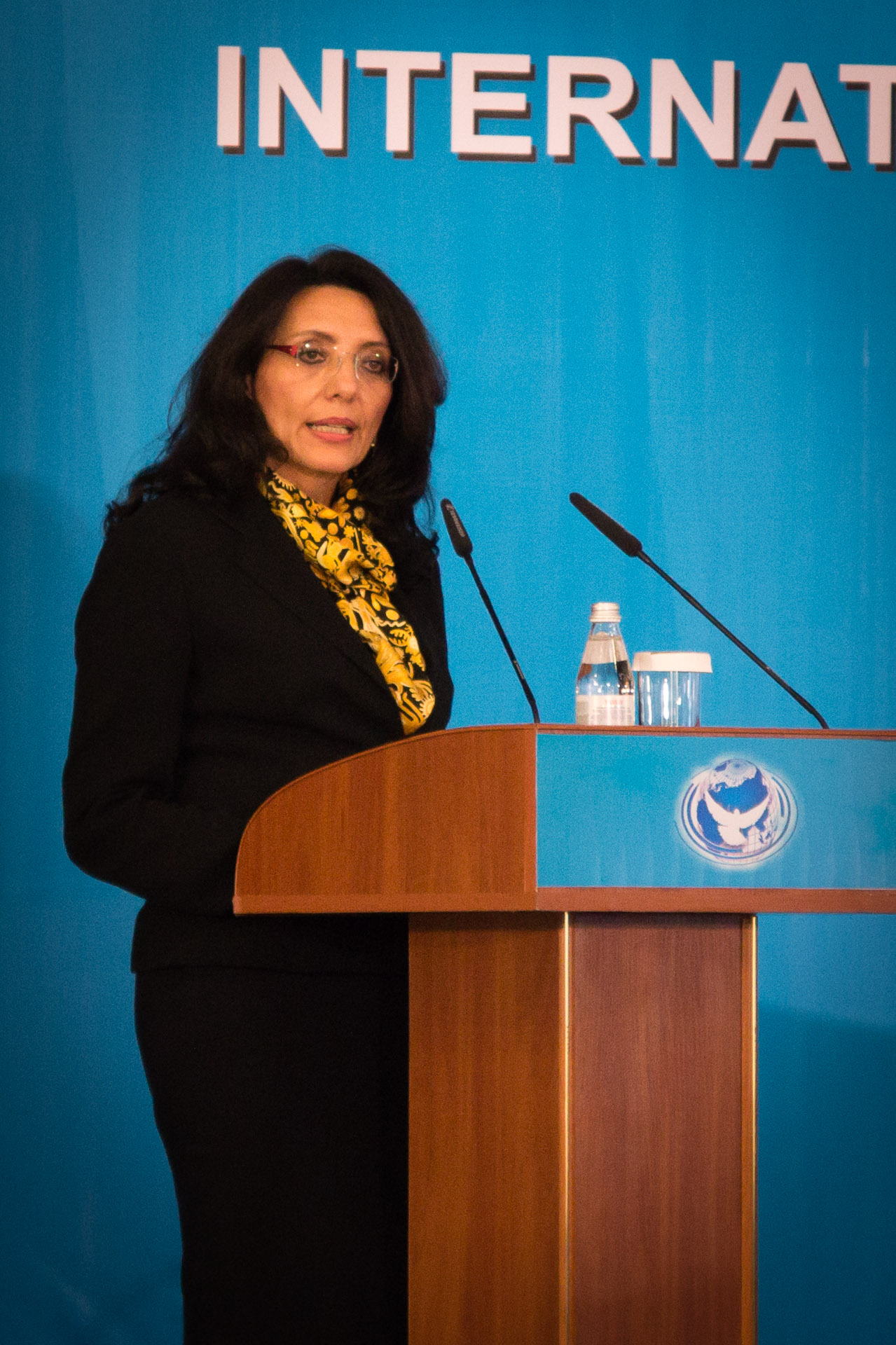 Gioconda Úbeda Rivera, Secretary General of the Agency for Prohibition of the Nuclear Weapons in Latin America and the Caribbean (OPANAL)