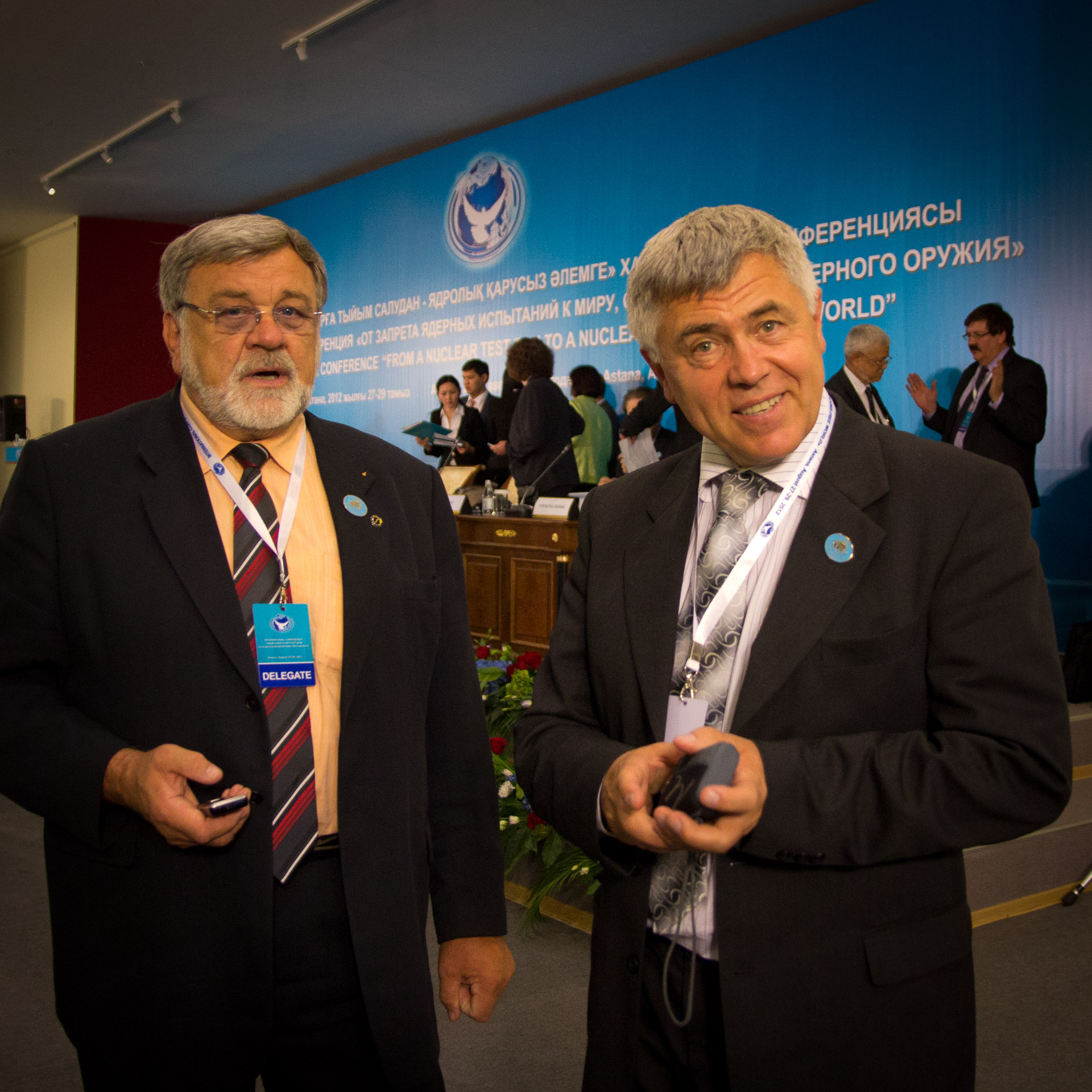 Senators Jaroslav Doubrava and Miroslav Krejča, Czech Republic
